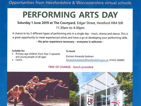 Performing Arts Day - Saturday 1st June 2019