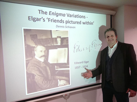 The Enigma Variations – Elgar's 'Friends Pictured Within' with Dennis Schiavon