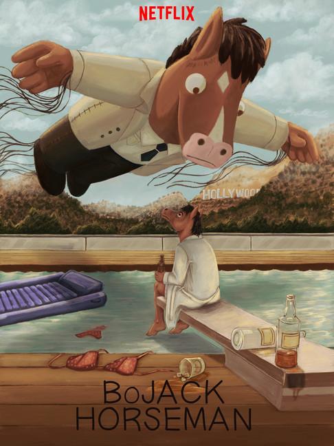 """""""Bojack Horseman"""" Alternate Poster"""