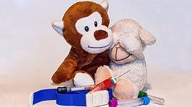 Needle phobia teddy bears