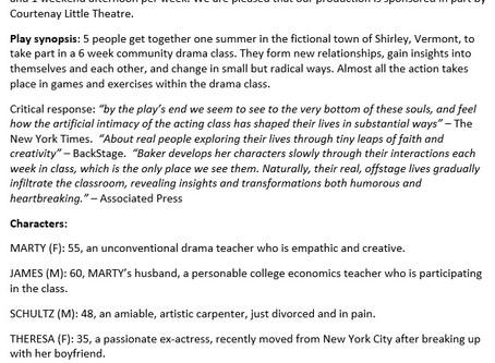 More info for Courtenay Little Theatre