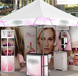 Canopies & Stall Designing.png