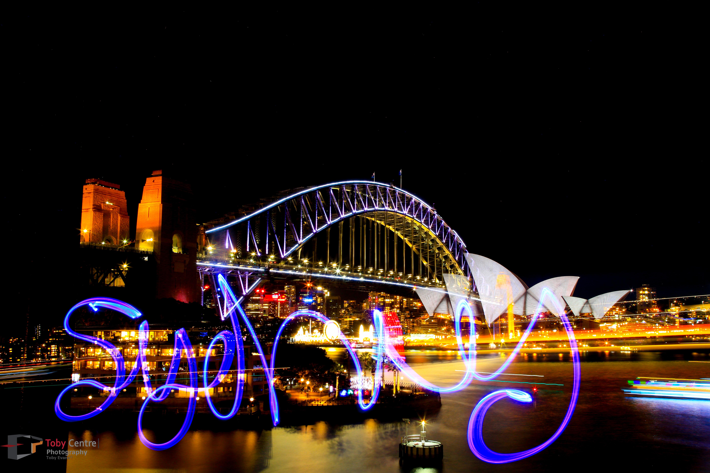 Double exposure Sydney 2