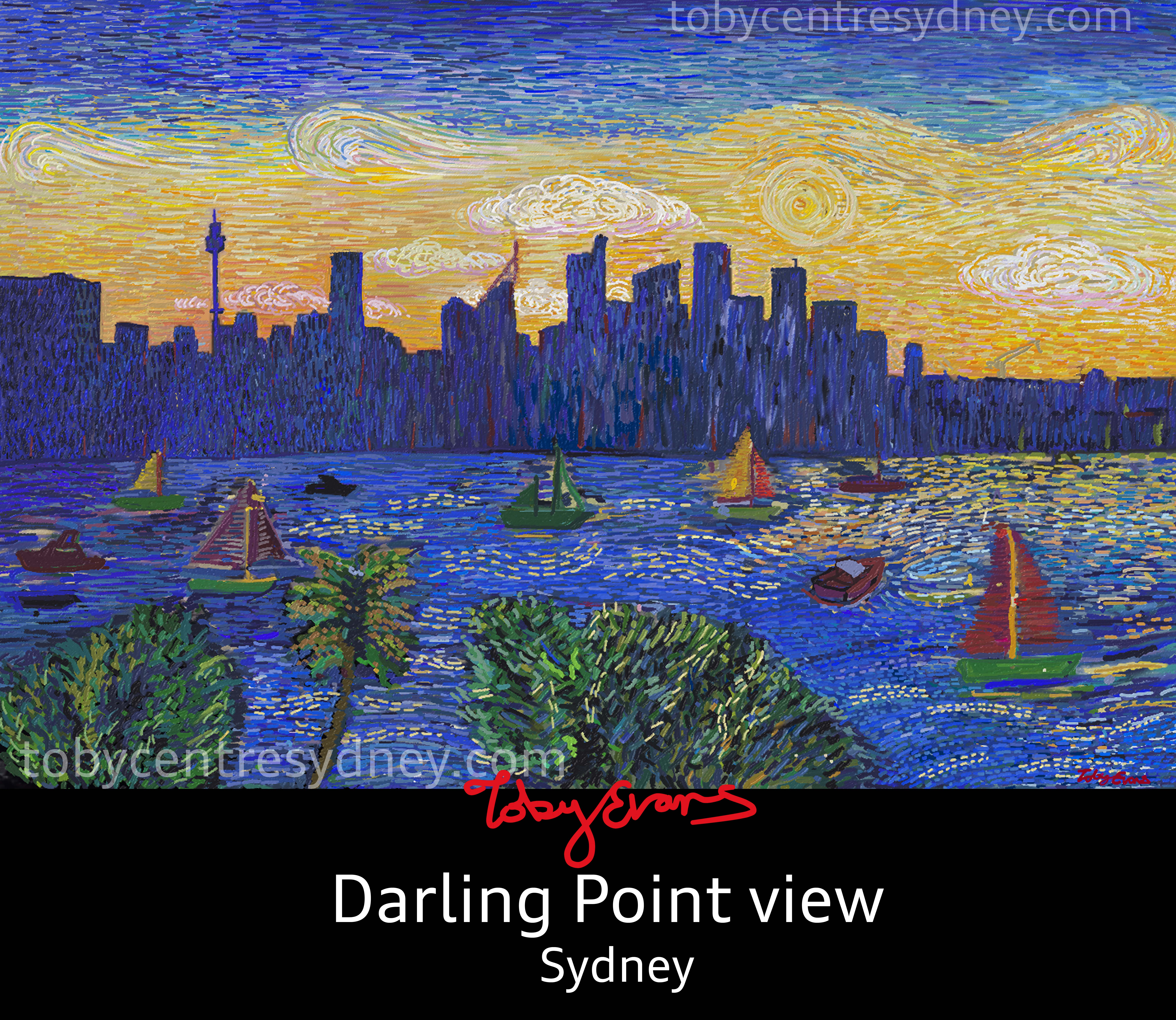 Sydney boats Darling point