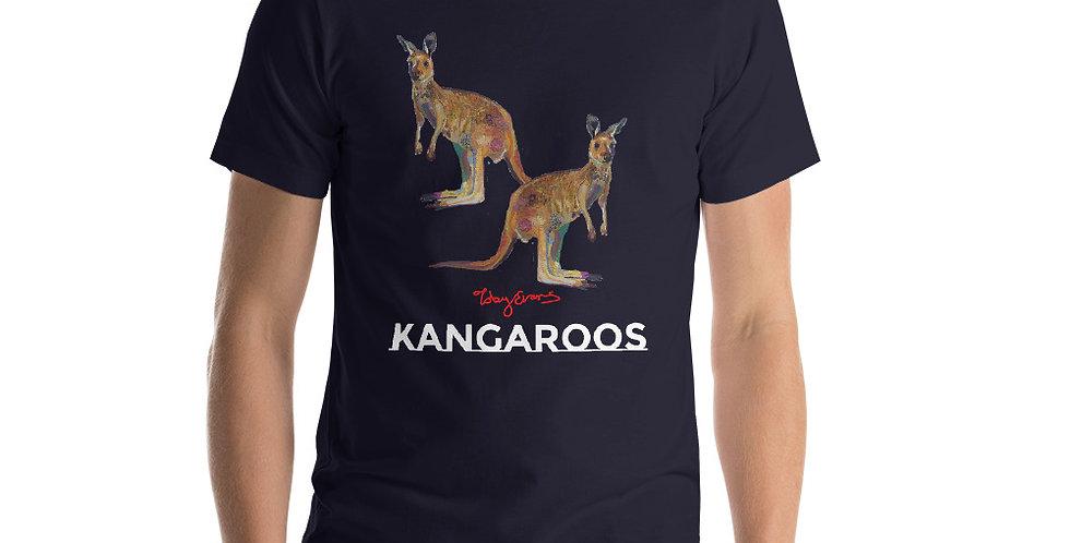 Kangaroos short-Sleeve Unisex T-Shirt