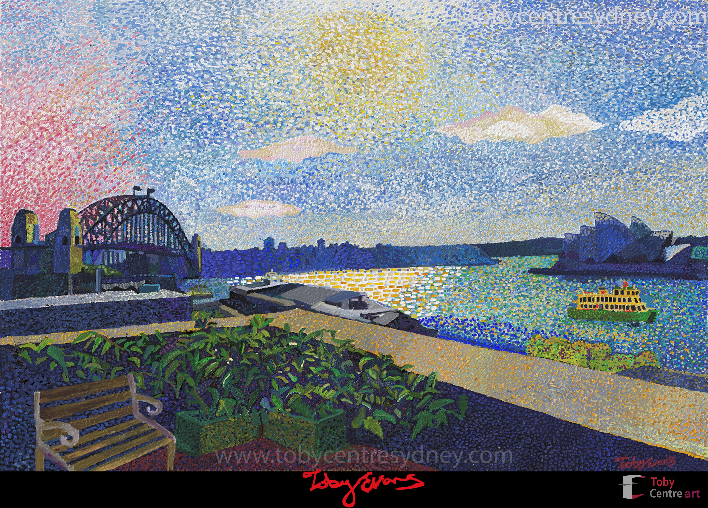 Toby Evans Art |Sydney Circular Quay