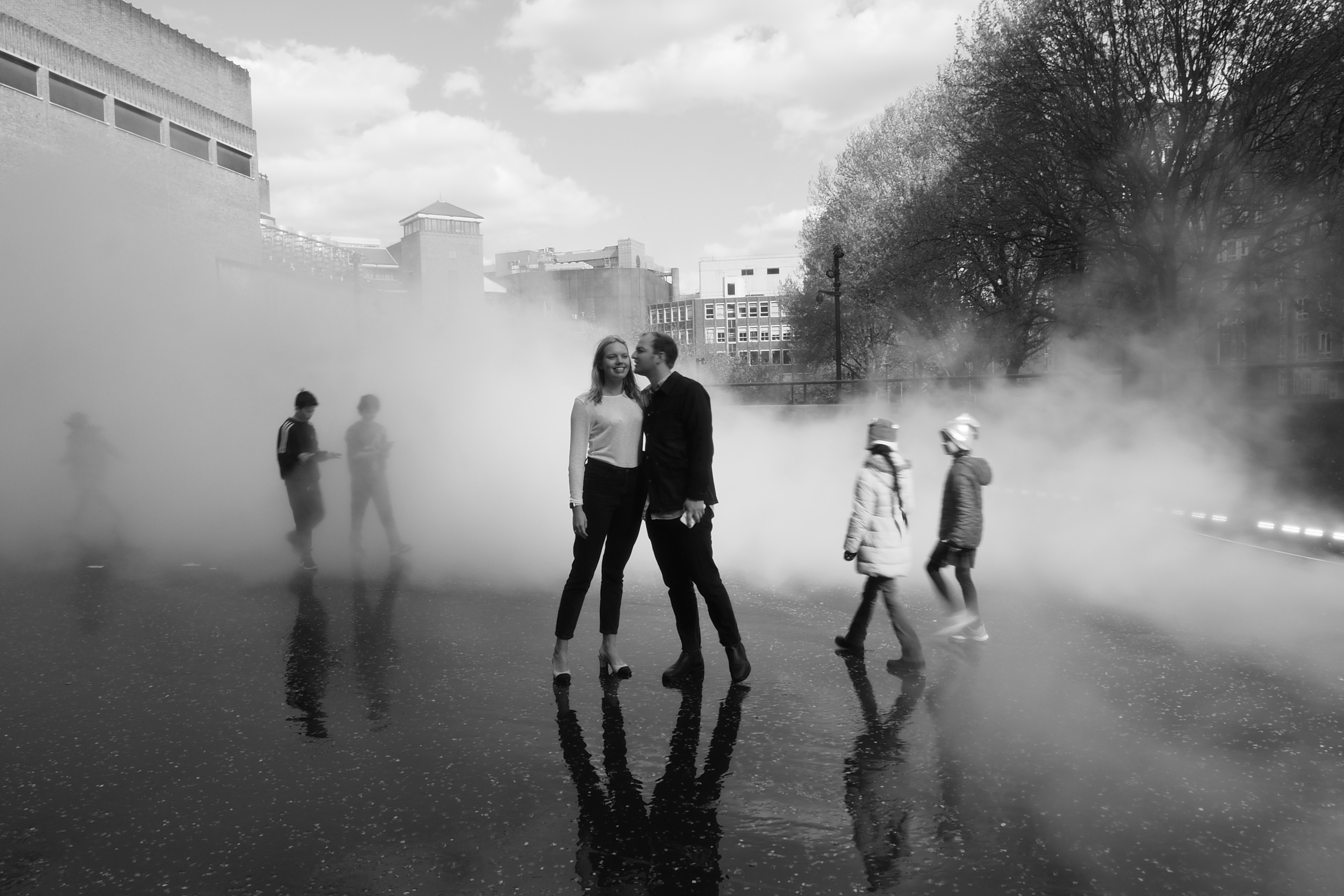 Engagement at the Tate: London