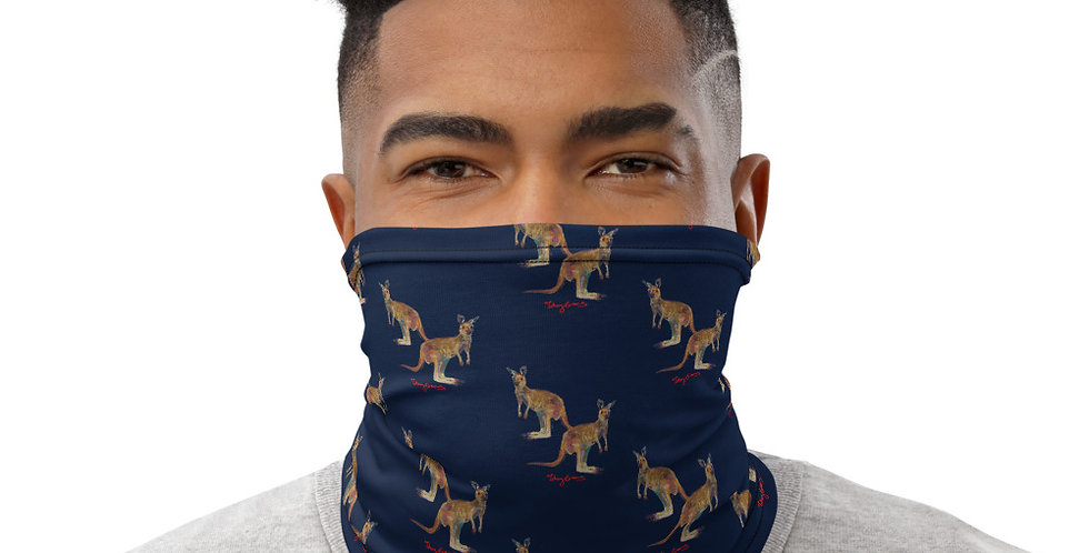 Kangaroo design Neck Gaiter