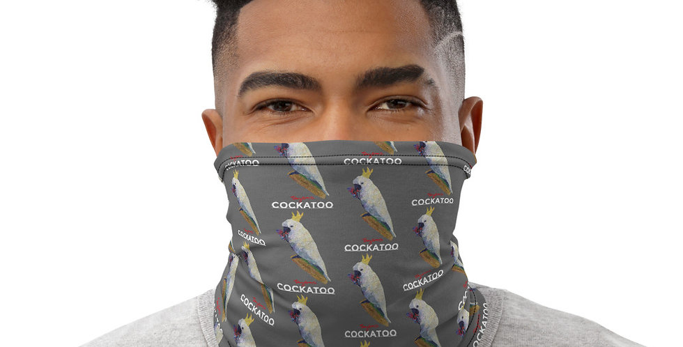 Cockatoo Neck Gaiter Mask