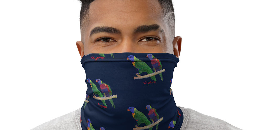 Lorikeets Neck Gaiter Mask