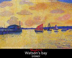 Watson bay complete artwork