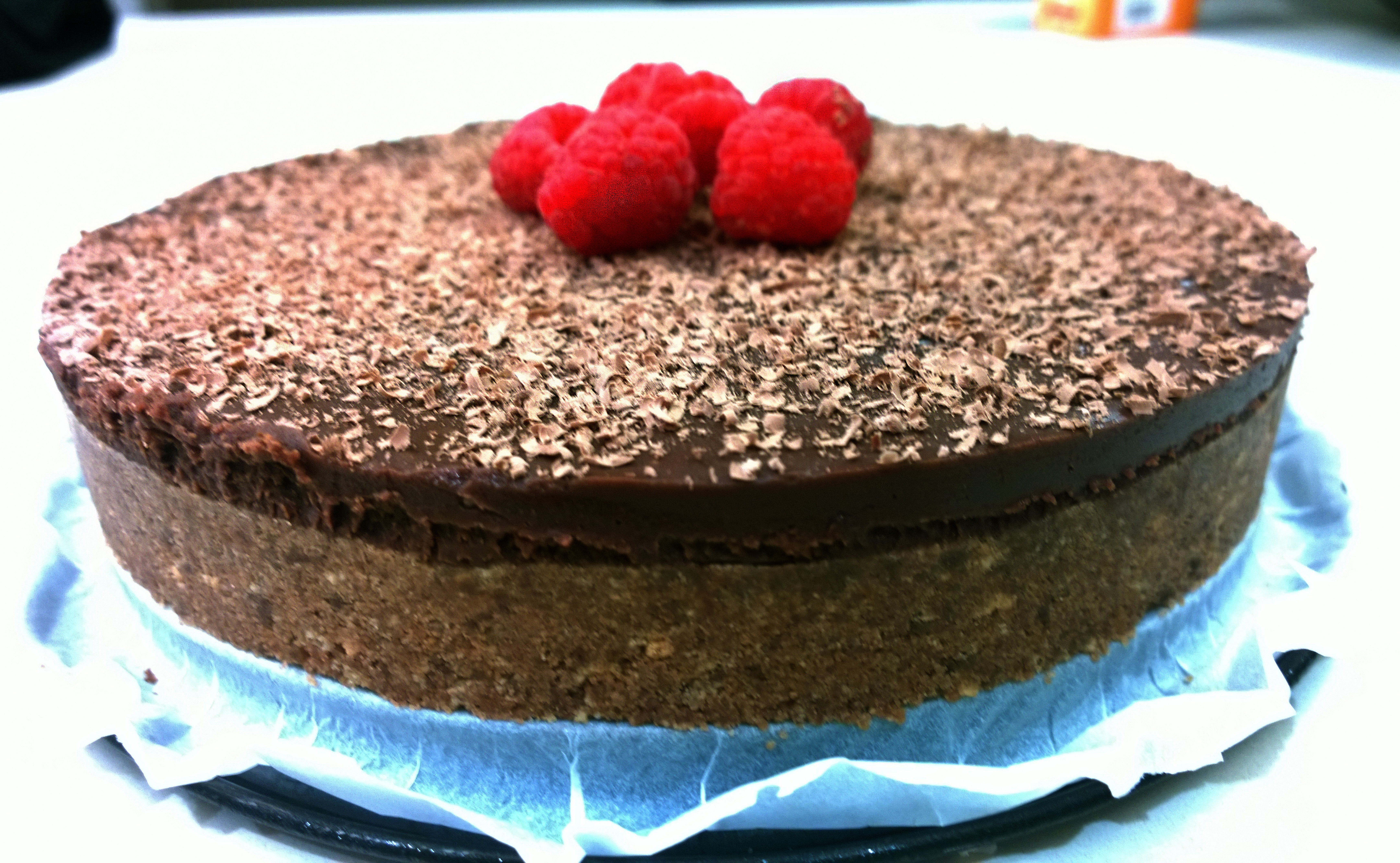 Chocolate Ganache Gateau