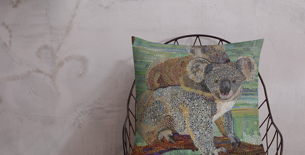 Koala's,  Premium Lounge cushion w/insert incl