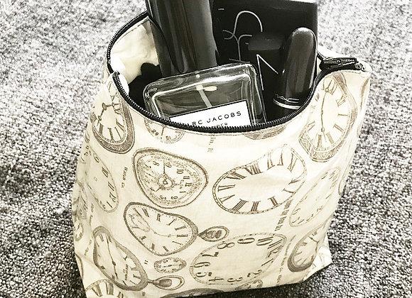 Clock Make up/Wash bag