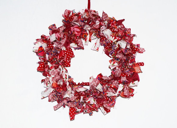 Christmas Wreaths RED