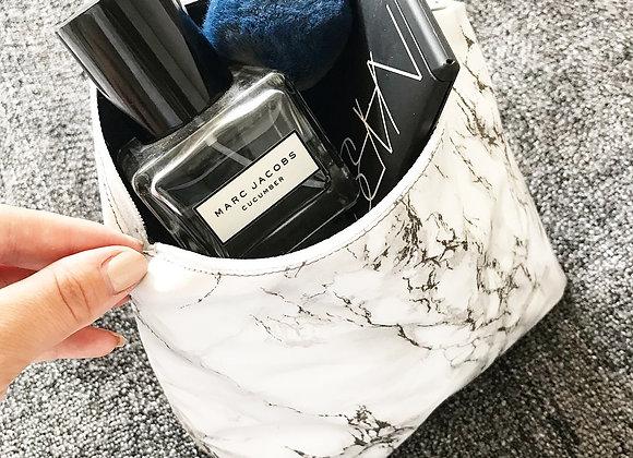 Marble Make up/Wash bag