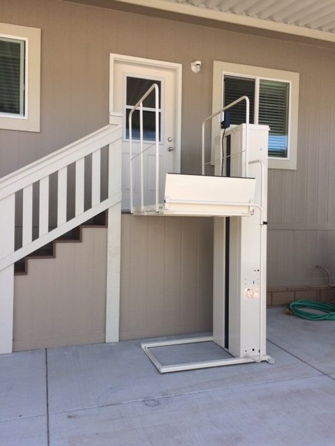 Mac\'s PL-50/PL-72 Porch Lift | Elevator | Santa Cruz | West Coast ...