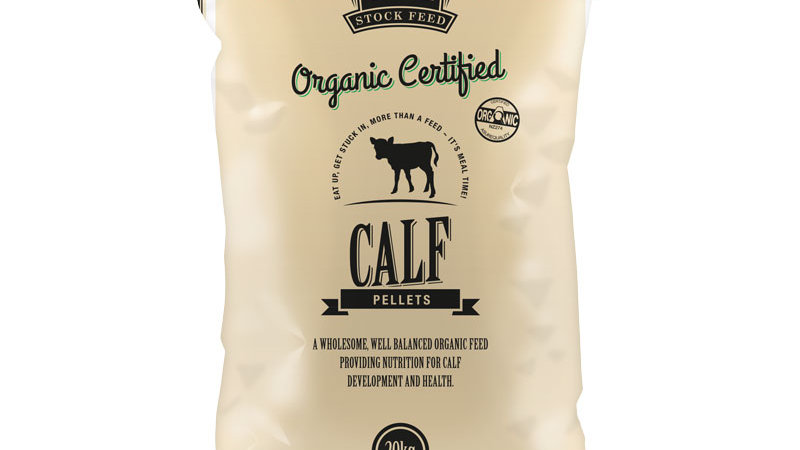 Organic Certified Calf Pellets