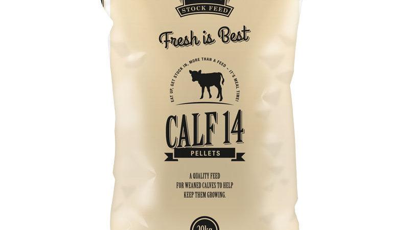 Calf 14 Pellets
