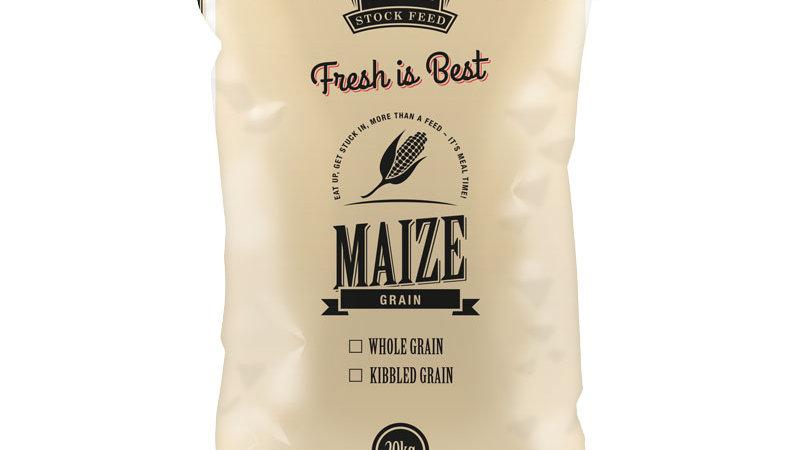 Kibbled Maize Grain