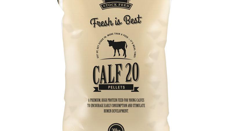 Calf 20 Pellets