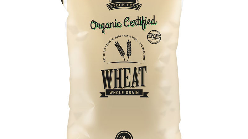 Organic Certified Whole Wheat
