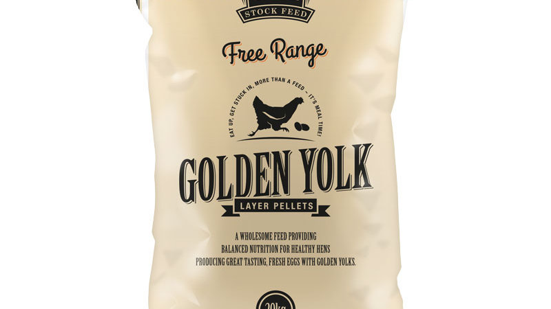 Free Range Golden Yolk Layer Pellets