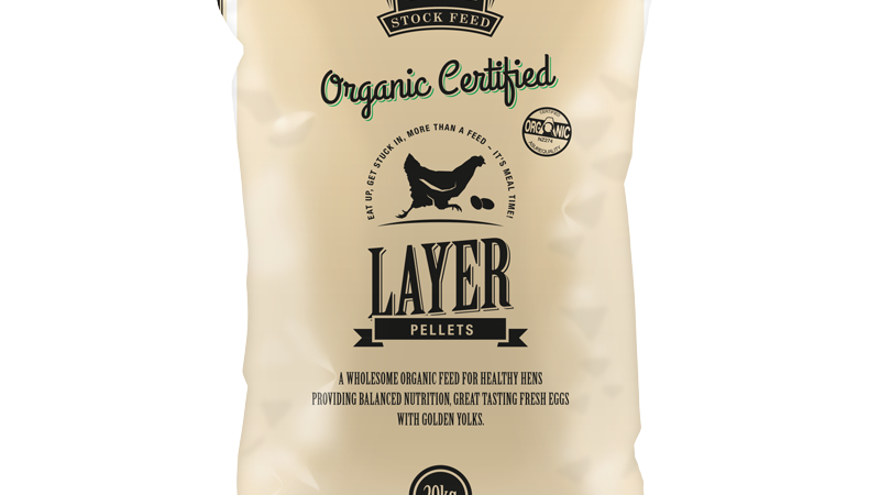 Organic Certified Layer Pellets