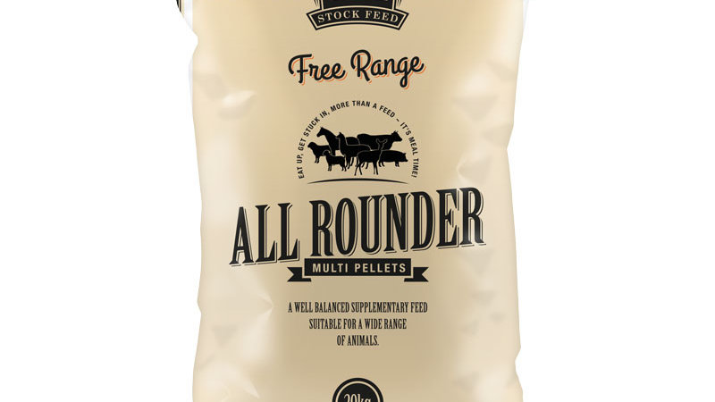Free Range All Rounder Multi Pellets