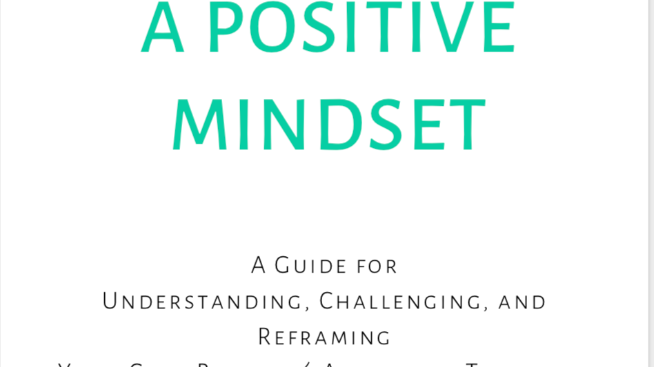 Creating A Positive Mindset Workbook