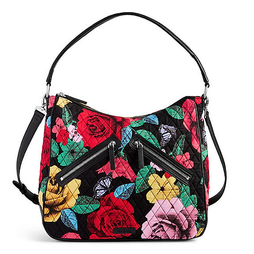 Vivian Hobo Bag in Havana Rose