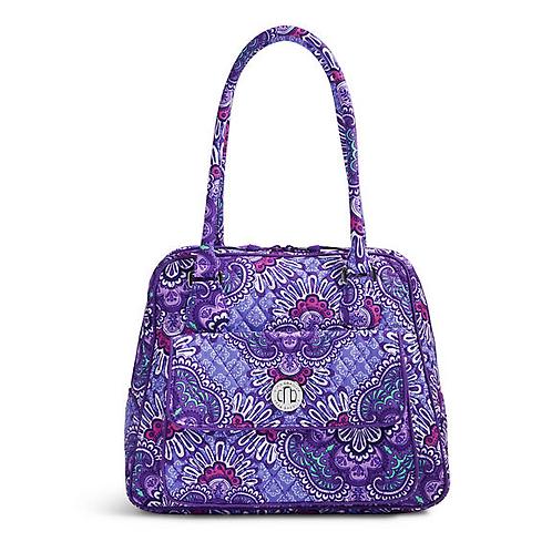 Turnlock Satchel in Lilac Tapestry