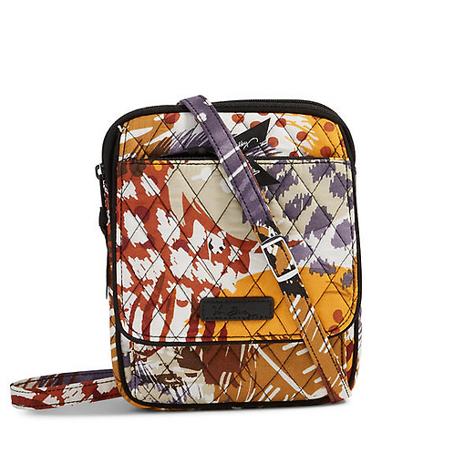 Mini Hipster Crossbody in Painted Feathers