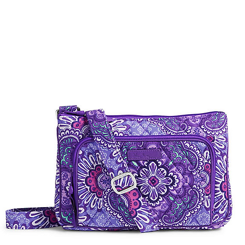 Little Hipster Crossbody in Lilac Tapestry