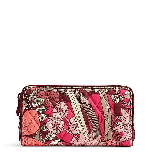 RFID Georgia Wallet in Bohemian Blooms