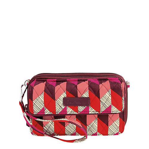 All in One Crossbody and Wristlet in Bohemian Chevron