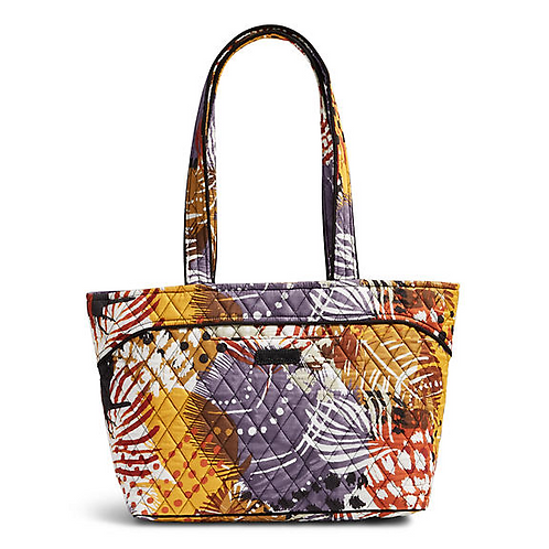 Mandy Shoulder Bag in Painted Feathers