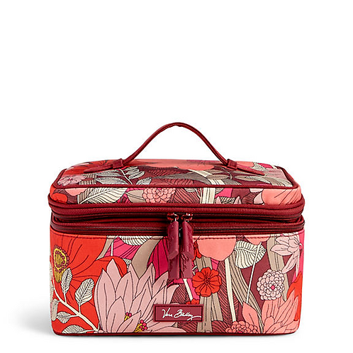 Lighten Up Brush Up Cosmetic Case in Bohemian Blooms