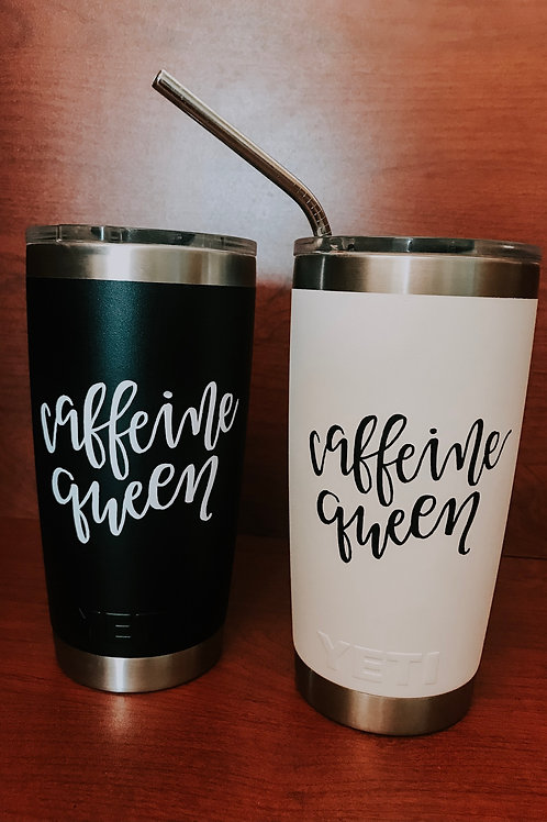 Caffeine Queen Decal