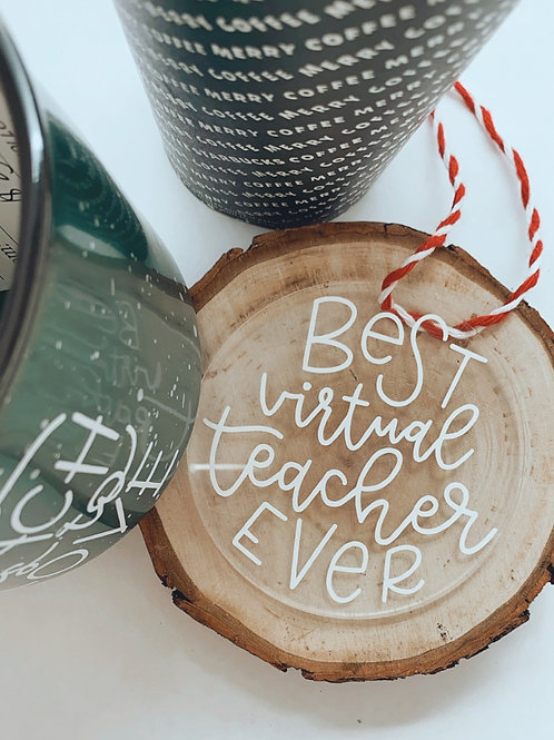 Best Virtual Teacher Ornament