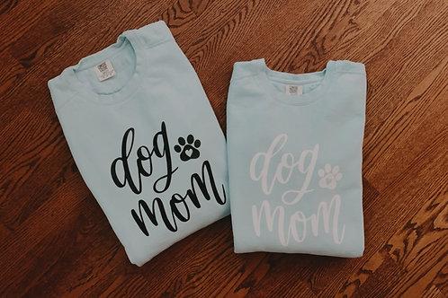Dog Mom Custom Sweatshirt