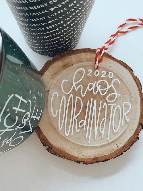 Chaos Coordinator Ornament