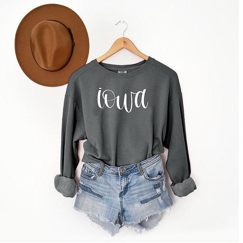 Grey Iowa Sweatshirt