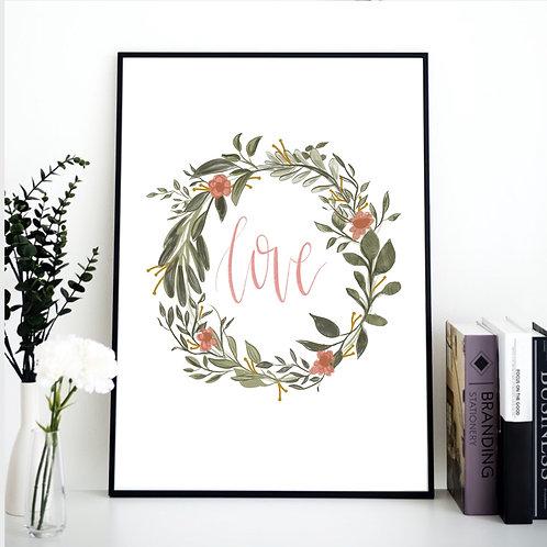 Digital Download Print: Love