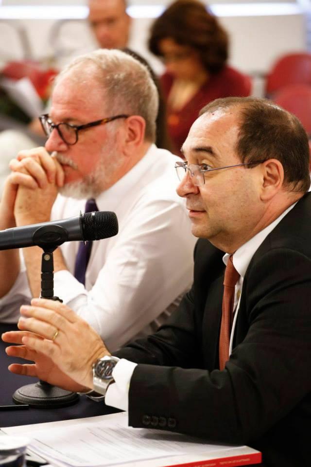 Sérgio Jacomino e L. P. Aliende Ribeiro