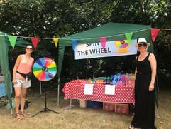 Spin the Wheel at Parish Summer Fete 2018
