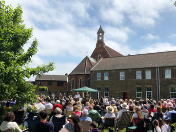 Mass and picnic