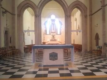 St Thomas' Mass Times