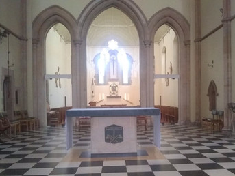 We are aiming to stream the 10am Mass this Sunday.