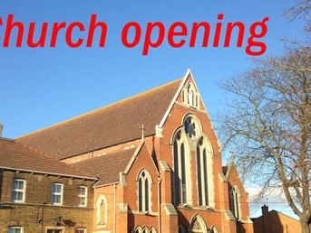 Post Lockdown Church Opening